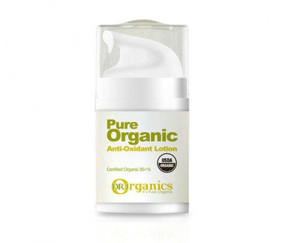 Pure Organic Anti-Oxidant Lotion